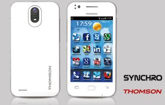 Smartphone Thomson libre el mundo