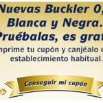 muestras gratis buckler negra o blanca