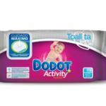 muestras gratis toallitas dodot activity