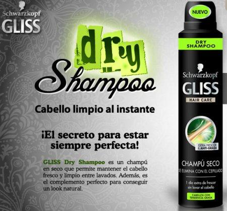 Muestras gratis champú - Dry gliss seco
