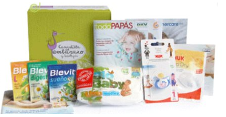 canastilla muestras gratis bebes