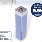 Batería portatil - promociones la Vanguardia