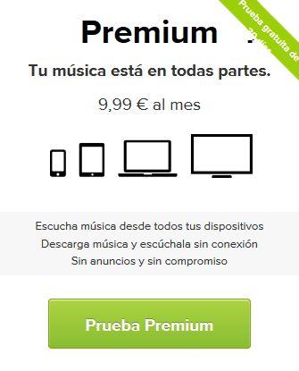Cosas gratis - Cuenta premium spotify gratis