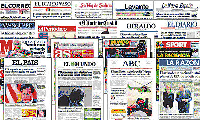 Periódicos españoles - promociones 2013