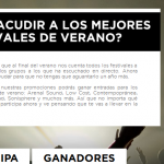 Abonos Arenal Sound gratis - promocion Coca Cola zerolistillos