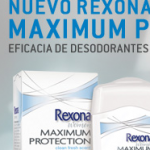 Muestras gratis Rexona women Maximum Protection