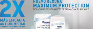 muestras gratis rexona women