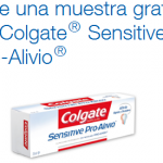 muestras gratis colgate sensitive pro alivio