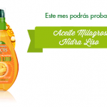 muestras gratis garnier - aceite hidra liso