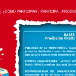 Muestras gratis Nestlé - Minicremas