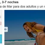 Oferta vacaciones costa Barcelona - Pineda de Mar