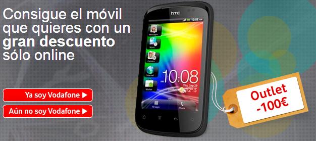 outlet móviles vodafone