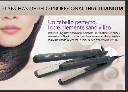 Plancha de pelo - promociones periódico el mundo