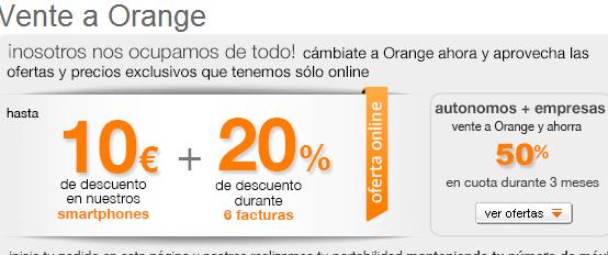 promociones orange - vente a orange