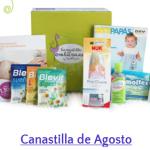 Muestras gratis - canastilla embarazo Todopapás agosto