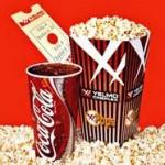 Promociones de Coca Cola te lleva al cine por 8 euros.