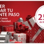 Esta Navidad consigue 250€ con Canon