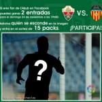 Gana entradas para el partido Elche-Valencia