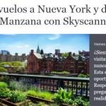 Gana un viaje a Nueva York con SkyScanner