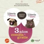 Affinity sortea 3 años de comida gratis para mascotas