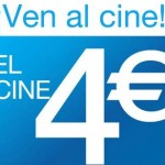 Entradas de Cine a 4€ con Cinesa Marineda City
