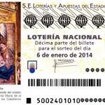 Resultados y premios Sorteo El Niño 6 enero de 2014