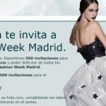 entradas gratis cibeles fashion week