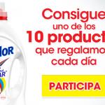 Muestras gratis de detergente Mi Color