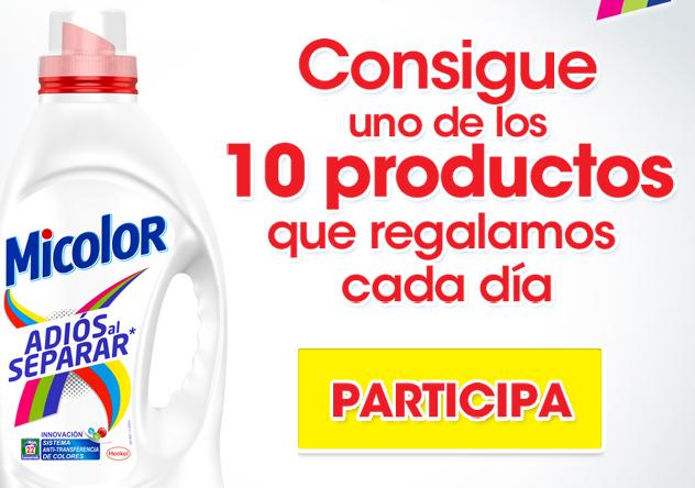 muestras gratis detergente mi color