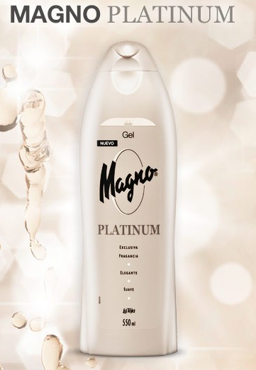prueba gratis gel de ducha magno platinum