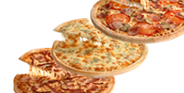 3 pizzas familiares por 10 euros cada una telepizza