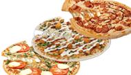 3 pizzas medianas por 7 euros cada una en telepizza