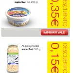 Cupones descuento supermercado Supersol 2014