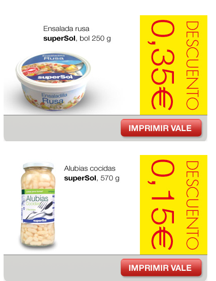 cupones descuento supermercados supersol 2014