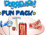 doraemon fun pack telepizza
