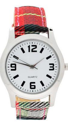 relojes 10 minutos modelo tartan