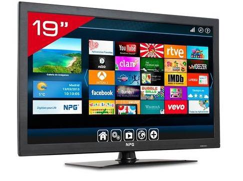 smart tv npg de 19 pulgadas con el diario abc
