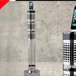 torre sonido aerosystem one jarre marca