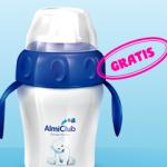 Vasito de aprendizaje gratis para tu bebé - Promoción Almiclub