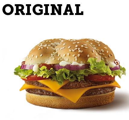 grand extreme original mcdonalds gratis