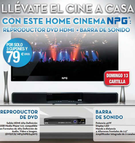 home cinema npg con el diario as