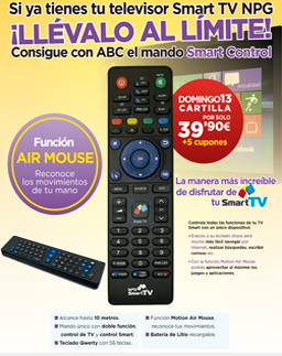 mando smart control npg con el diario abc