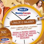 """Consigue muestras gratuitas de barritas Hero Muesly """"dulce y salado"""""""