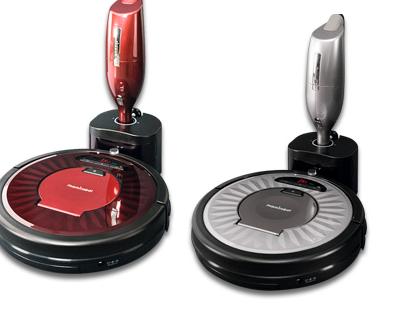 robot limpieza mas aspirador de mano mamirobot con marca