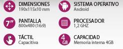tablet 7 pro ingo con diario el mundo