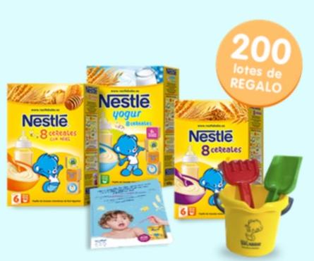 papillas cereales nestle bebe gratis
