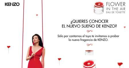 Consigue la muestra gratuita de perfume Kenzo