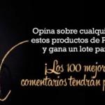 Premios con la promoción Pantene