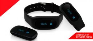 Promoción marca pulsera Activity Tracker para hacer deporte