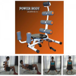 banco abdominales power body con sport